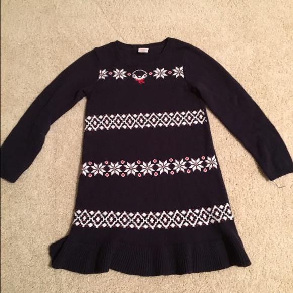 72aabd0e18e Gymboree Other - Girls Gymboree penguin sweater dress size 5T