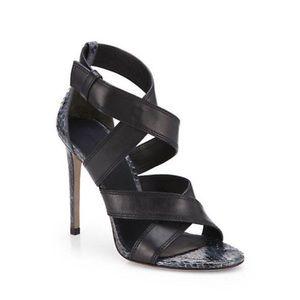 Alexander Wang Shoes - Alexander Wang Snakeskin Heels