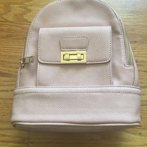 New Look Handbags - pink backpack
