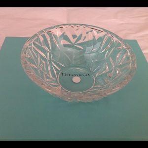 Tiffany & Co. Other - Tiffany & Co. Rock Cut Crystal Bowl