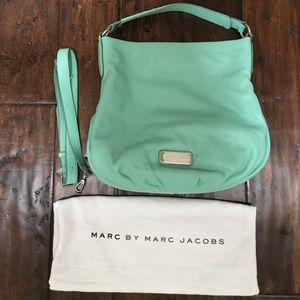 Marc by Marc Jacobs New Q Hillier Hobo in minty