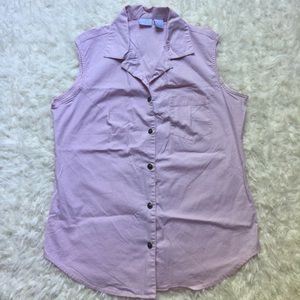 Lee Tops - [Riveted by Lee] Pale Pink Button-Up Shirt - M