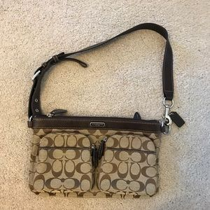 Authentic coach fanny pack