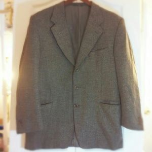 Canali Other - Men's Cashmere Canali Blazer Jacket Coat 44S