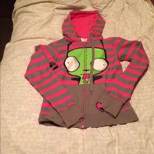 Hot Topic Tops - Gir hoodie small
