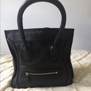 Celine Handbags - Celine mini phantom luggage