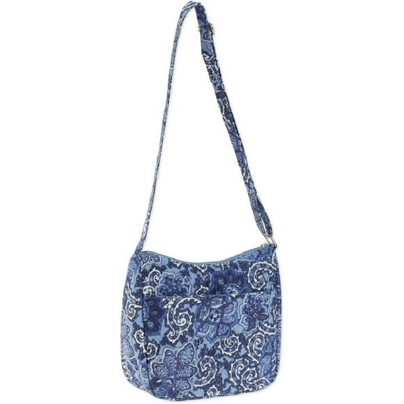 84 Off Vera Bradley Handbags Brand New Waverly Blue