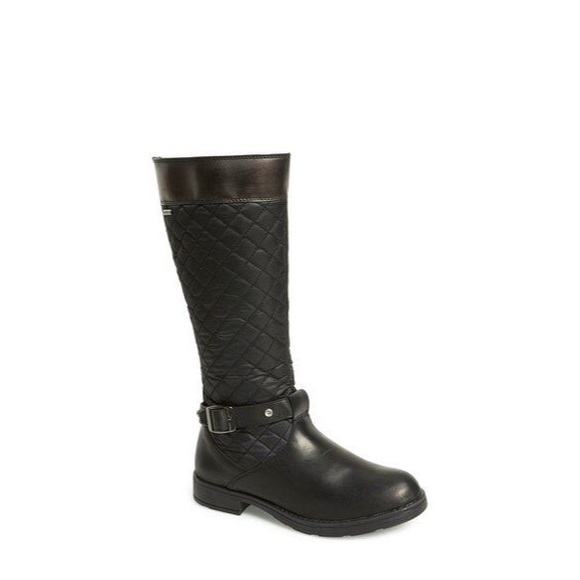 246e2279ea48 Geox Other - Geox Girls Sofia Quilted Boots