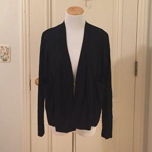 Philosophy Sweaters - Philosophy Black Cardigan