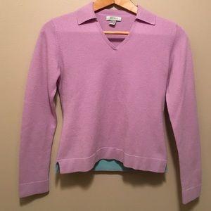 Geneva Sweaters - Geneva S 100% cashmere V-neck long-sleeve sweater