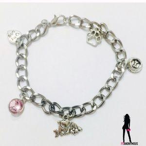 October Love Jewelry - I ❤️ My Dog Charm Bracelet