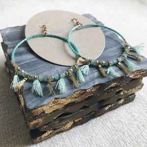 Chan Luu Jewelry - 🆕 Earrings: Chan Luu Bead and Tassel Hoops
