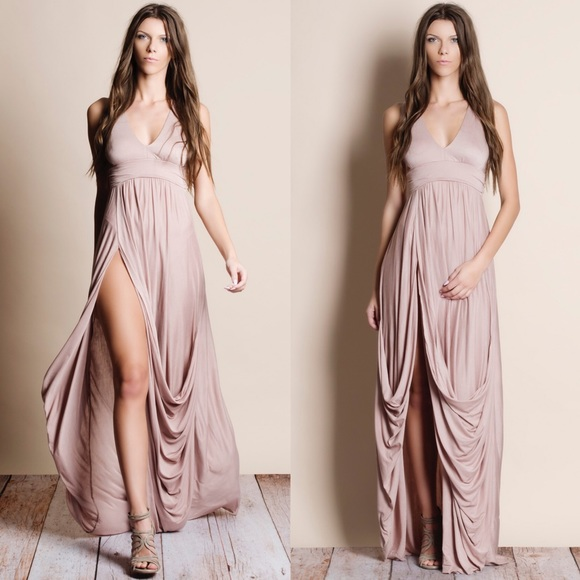 Bare Anthology Dresses & Skirts - Invictus High Slit Maxi Dress