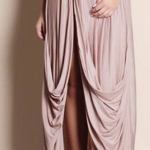 Bare Anthology Dresses - Invictus High Slit Maxi Dress