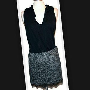 Benetton  Dresses & Skirts - Benetton Stile herringbone mini skirt