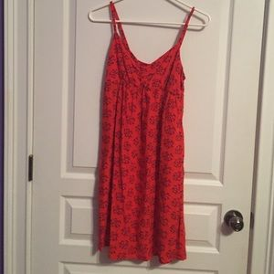 Orange Sleeveless Old Navy Summer Dress