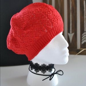 Accessories - SOLD :: 🆕 :: Red crochet beanie :: 🆕 ::