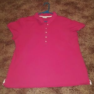 DKNYC Tops - DKNY~  PINK POLO ~ NWOT  Perfect casual or Dressy