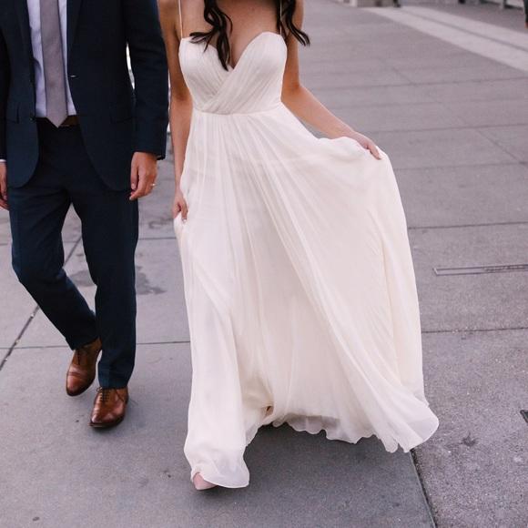 Leanne Marshall Dresses Wedding Gown Lea Ivory Altered Poshmark