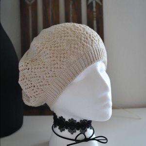 Accessories - :: 🆕 :: Ivory crochet beanie :: 🆕 ::
