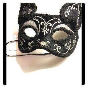 Cat glitter mask