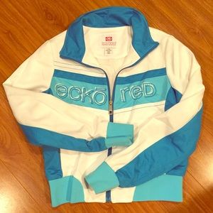 Ecko Red Zip Up - Junior's Large