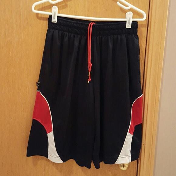 9b166c2f55b8 Jordan Other - Guy s Jordan black red white shorts .. size small