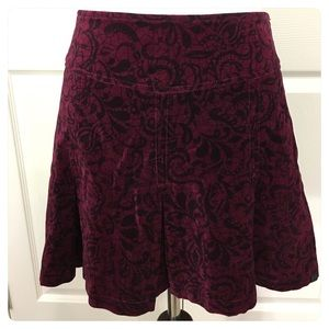 Urban Outfitters wine Insight skirt