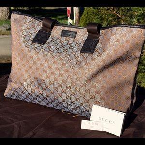 Gucci Handbags - ❤️️FINAL PRICE❤️️🆕GORGEOUS RARE GUCCI IMPRIME
