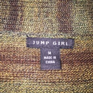 Jump Girl Dresses - Jump Girl Olive and Brown Sweater Dress