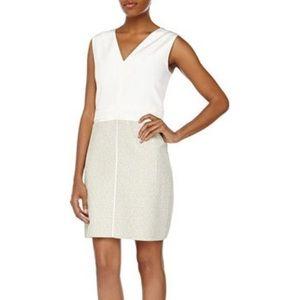 J. Mendel Dresses & Skirts - J. Mendel leather/tweed dress