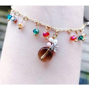 🚩BOGO Handcrafted crystal charm bracelet