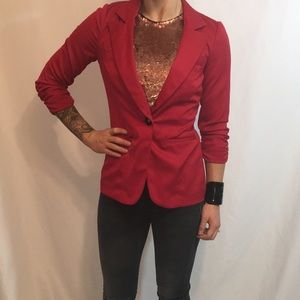 NWT Red Maurices Blazer