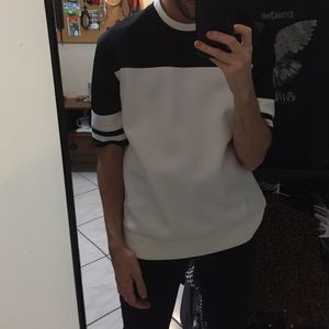 Men's black and white shirt from 21 men xs