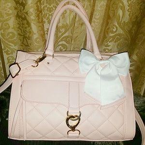 Betsey Johnson Handbags - Quilted satchel Betsey Johnson purse