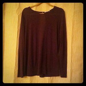 T by Alexander Wang Tops - T Alexander Wang Dark Purple Shirt