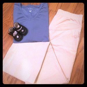 GAP Pants - 🍼MATERNITY🍼 Gap pinstripe pants
