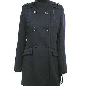 Maralyn & Me Jackets & Blazers - Maralyn & Me double - breasted walker Navy coat