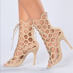 Caged 5inch Heels