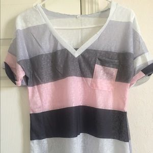 Tops - Short sleeve tee,loose fit Size M