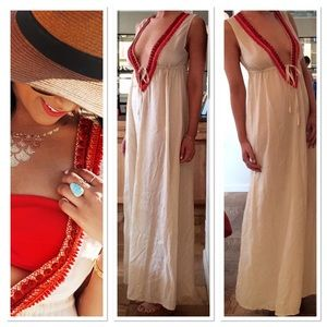 Shoshanna Dresses & Skirts - Shoshanna Embellished Maxi Dress