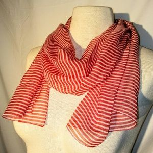 2for1 SHEER Stripe Scarf