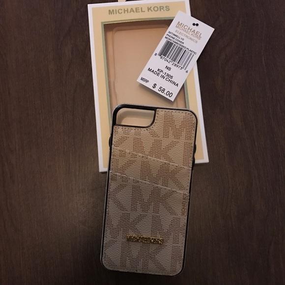 premium selection 0b962 bcc6e Michael Kors iPhone 7 plus case