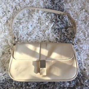 Kenneth Cole Reaction small off white handbag