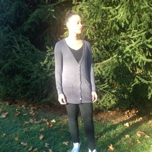 Sweaters - Oversized button up cardigan