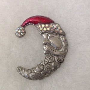 TC Jewelry - 🎄💕Vintage Santa Pin