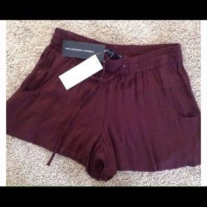 French Connection Pants - NWT French Connection Donna Drape Tie Waist Shorts