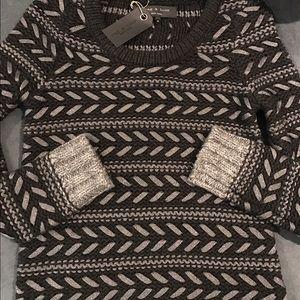 rag & bone Sweaters - Rag & Bone Black and Grey Sweater NWT