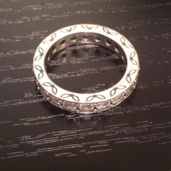 Pandora Clear Cz Infinity Stackable Ring