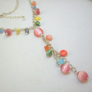 Jewelry - Vintage Fringed Y Necklace